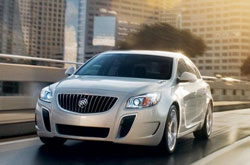 compare 2012 buick regal