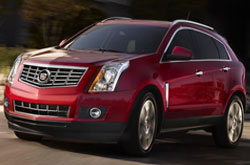 compare 2014 Cadillac SRX