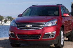 compare 2014 chevrolet traverse