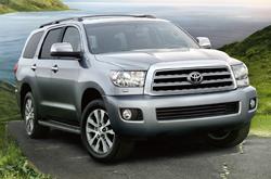 Compare 2014 Toyota Sequoia