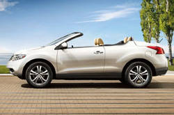 Trophy Nissan Shows Off The New Murano Crosscabriolet