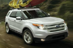 compare 2014 Ford explorer