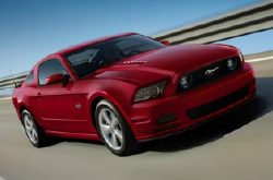 compare 2014 Ford mustang