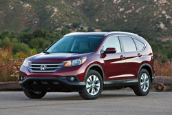 compare 2014 honda cr-v