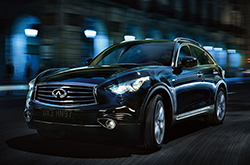 Review and Compare 2014 Infiniti QX70 in Dallas-Ft. Worth