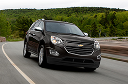 compare 2016 Chevrolet Equinox