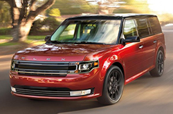 compare 2016 Ford Flex