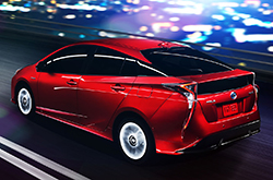 The All New Fourth Generation 2016 Toyota Prius Delivers Exceptional Mpg Ratings And Dons A Futuristic Exterior Design On Outside Hybrid Has