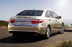 Toyota Camry Comparisons Quick Specs