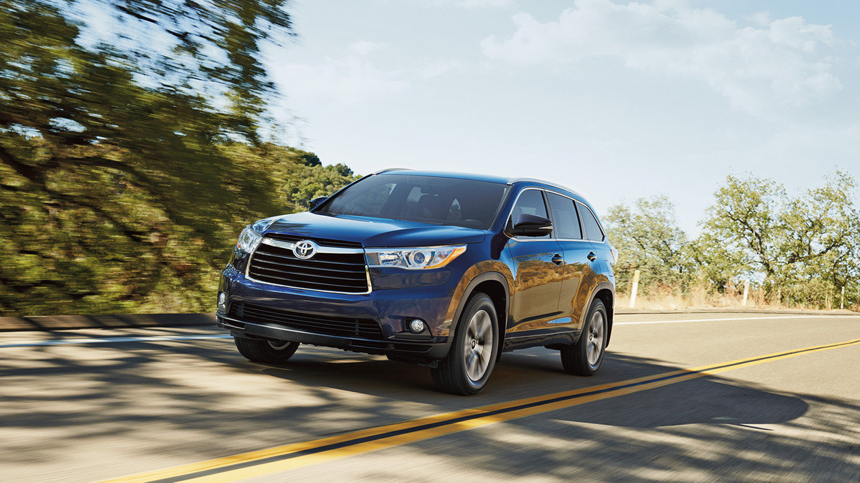 2016 Toyota Highlander Affordable Midsize SUV Review | San Antonio ...