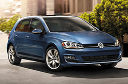 Compare cars like the 2016 Volkswagen Golf