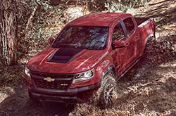 compare 2017 Chevrolet Colorado