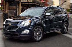 compare 2017 Chevrolet Equinox