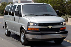 compare 2017 Chevrolet Express