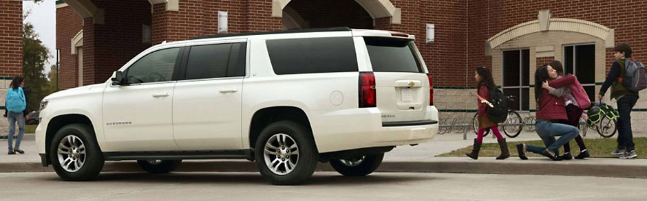 Chevrolet Suburban Home Wherever You Go