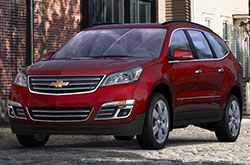 compare 2017 Chevrolet Traverse