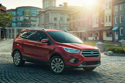 compare 2017 Ford Escape