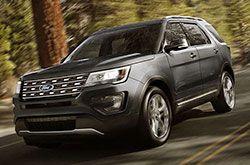 compare 2017 Ford Explorer