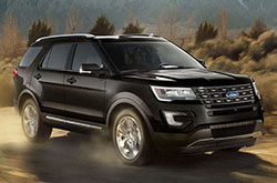 Standard Safety Features Of The 2017 Ford Explorer Near Phoenix Include Roll Ility Control Traction A Rearview Camera And An Extensive Set