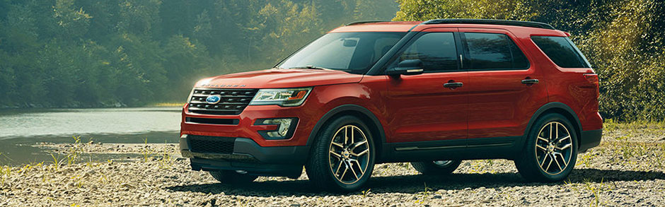 Research New Ford Suvs 2017 Explorer Camelback Ford