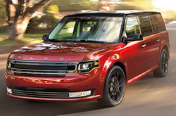 compare 2017 Ford Flex