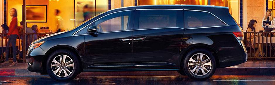 2017 Honda Odyssey Review Minivan Comparison In Dfw