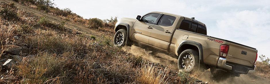 2017 Toyota Tacoma Review Compare New Trucks Scottsdale Az