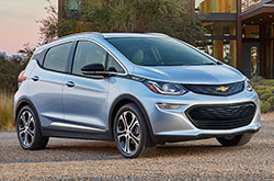 compare 2018 Chevrolet Bolt