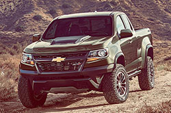 compare 2018 Chevrolet Colorado