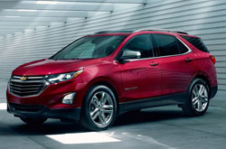 compare 2018 Chevrolet Equinox