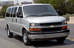 2018 Chevy Express Front
