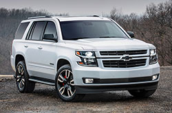 compare 2018 Chevrolet Tahoe