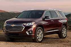 compare 2018 Chevrolet Traverse