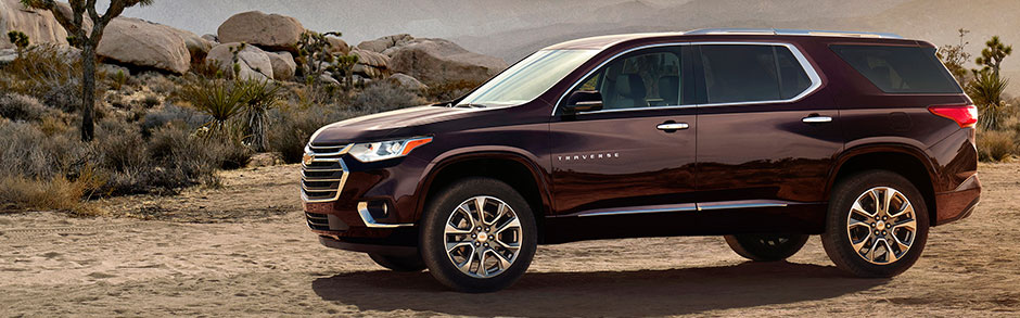 2018 chevy traverse review features specs evansville in. Black Bedroom Furniture Sets. Home Design Ideas