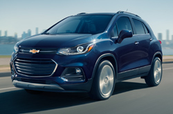 2018 Chevy Trax Front