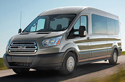 2018 Ford Transit Front
