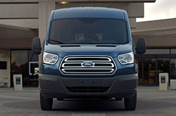 2018 Ford Transit Rear
