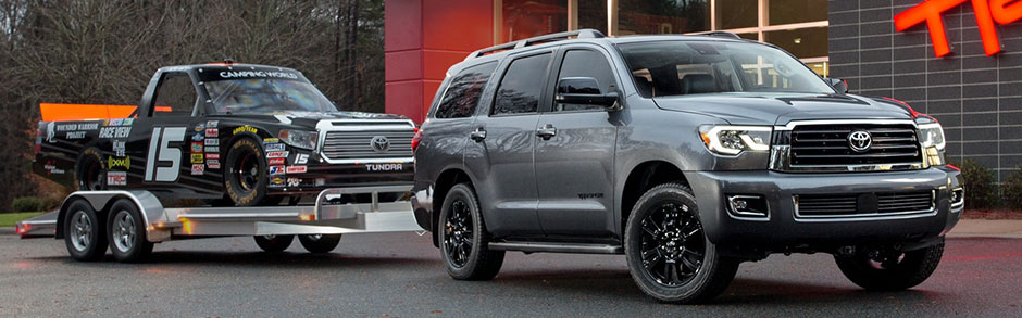 Toyota Sequoia Towing Capacity >> 2018 Toyota Sequoia Review Overview Of Features Near