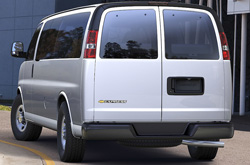 2019 Chevrolet Express Exterior Front