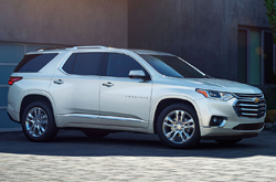 compare 2019 Chevrolet Traverse