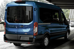 2019 Ford Transit & Transit Connect Exterior Rear