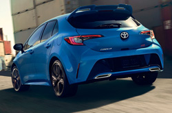 Toyota Corolla Hatchback Lease