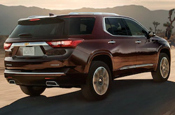compare 2020 Chevrolet Traverse
