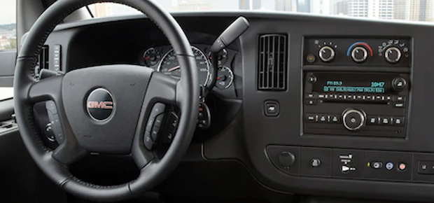 2020 GMC Savana Interior