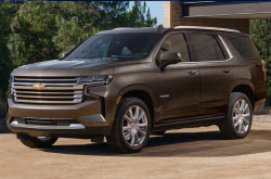 compare 2021 Chevrolet Tahoe